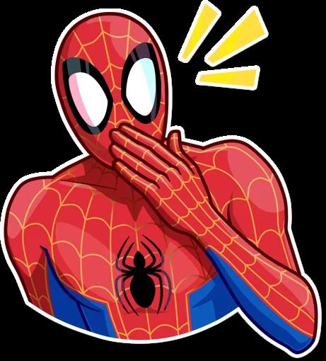 Bild von Spider-Man im Comic-Stil.